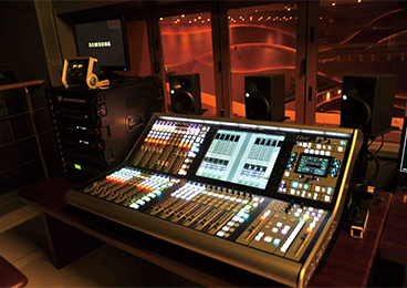 Tangshan Grand Theatre - Music Theatre Control Room L500