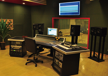 Beijing Contemporary Music Academy - Recording Studio
