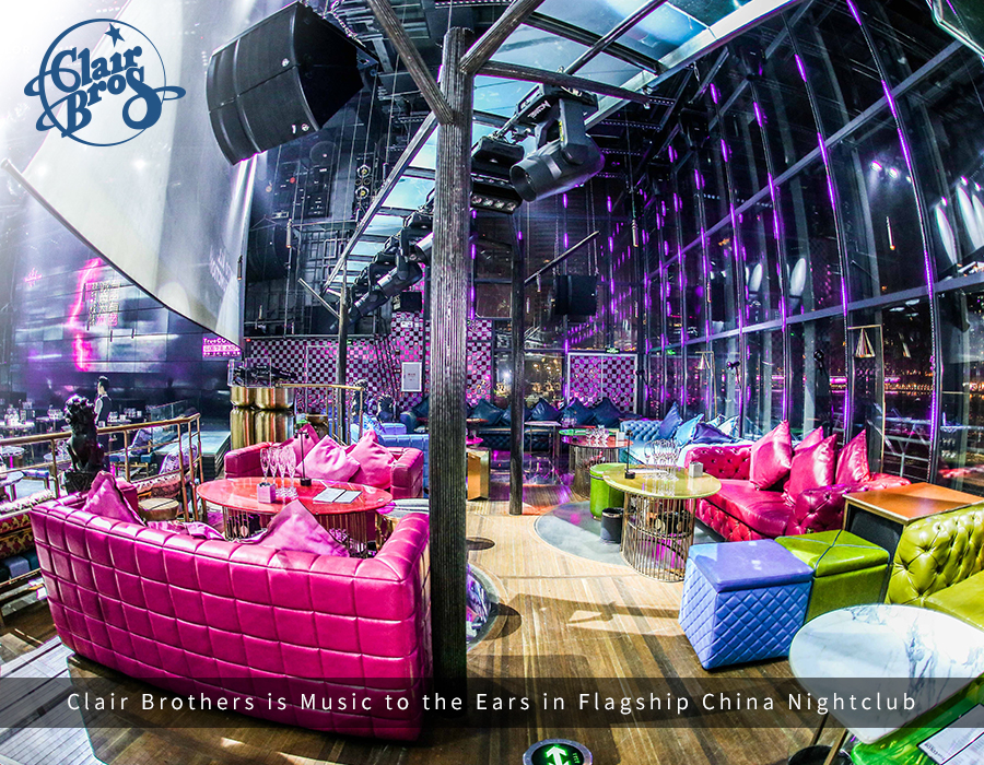 Clair Brothers is 'Music to the Ears' in Flagship China Nightclub Live