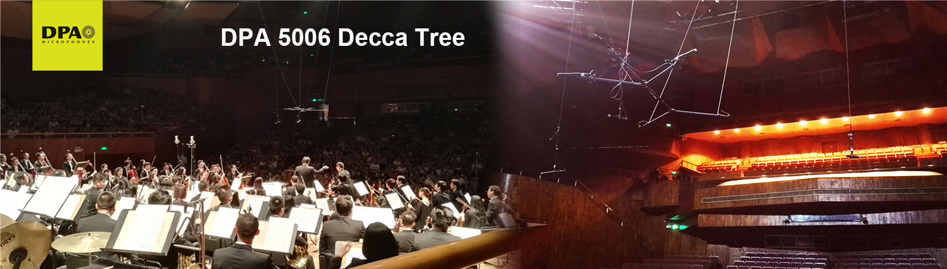 DPA 5006 Decca Tree perfectly captured the live sound of GZ Symphony Orchestra