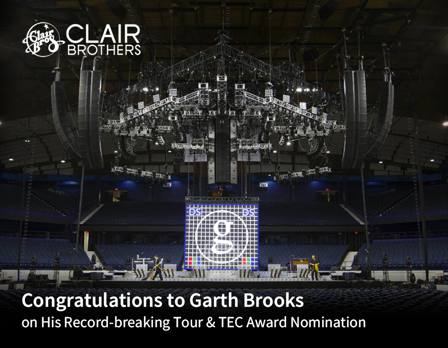 Congratulations to Garth Brooks on His Record-breaking Tour & TEC Award Nomination Live