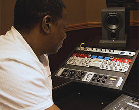 Producer/Engineer Dave Isaac Streamlines Workflow at His Personal Studio with Focusrite Red8 Pre